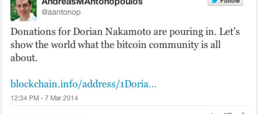 Andreas Antonopoulos Starts Fundraiser For Dorian Nakamoto, Man Pegged as Bitcoin Creator