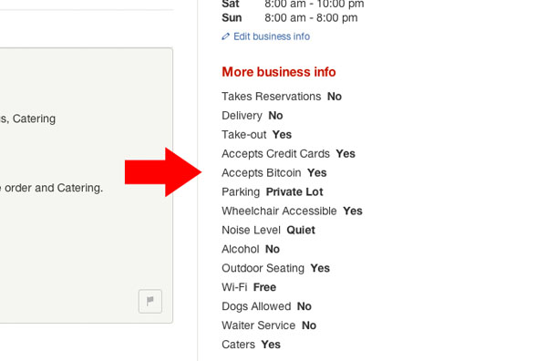 Accepts Bitcoin Yelp Options 01
