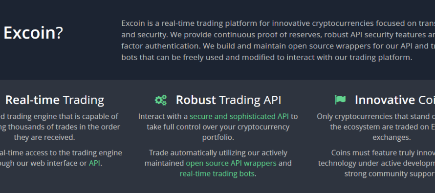 Excoin Starts Rolling Out NuBits (USD) Trading Pairs