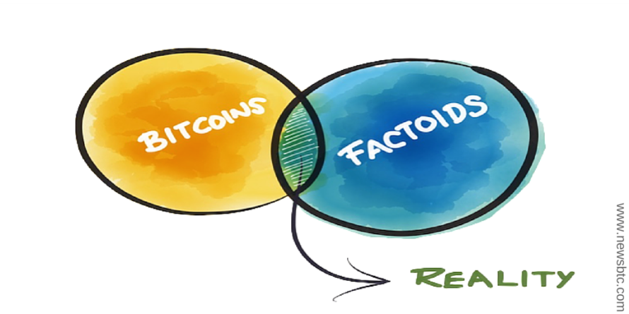 Bitcoins and Factoids: a Symbiotic Relationship