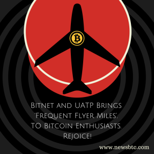 Bitnet brings frequent flyer miles to bitcoin enthusiasts