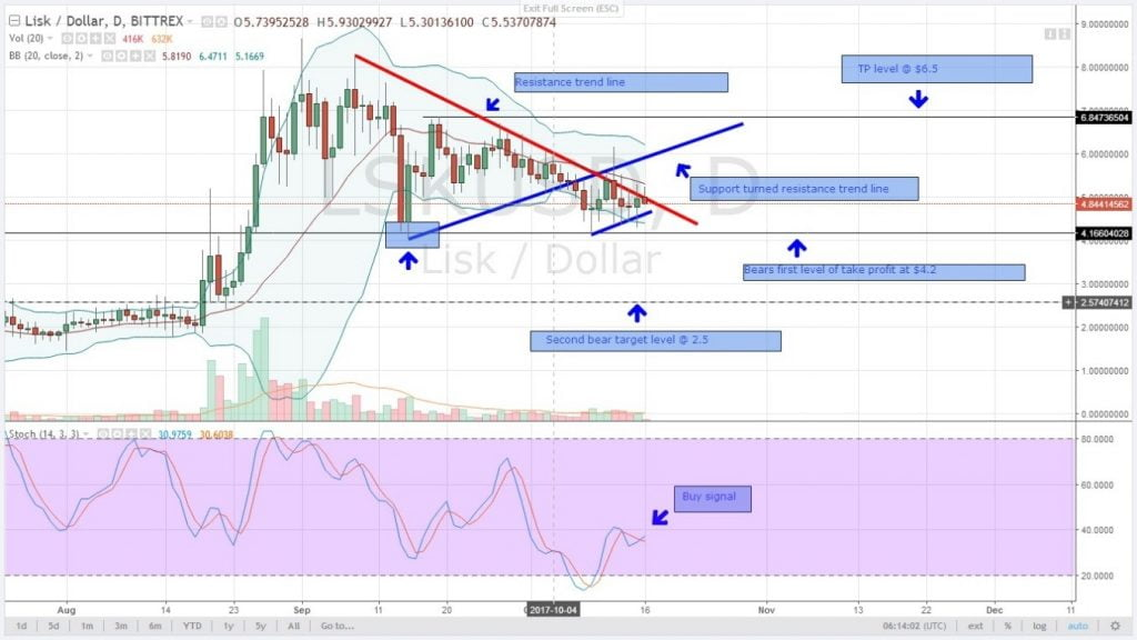 LSK, lisk, altcoin, analysis, oct 16