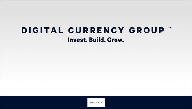Digital Currency Group Website